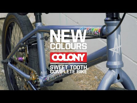 Alex Hiam's signature complete bike, the Sweet Tooth Pro! It's now available in the great looking Platinum colourway. More info here: ...
