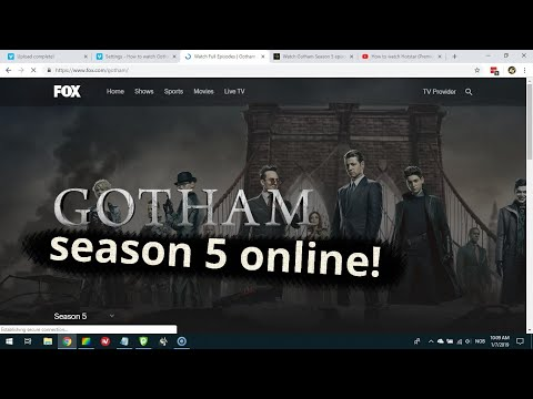 Where To Strean Gotham Season 5 Online?