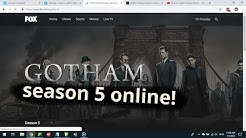 Where to strean Gotham season 5 online?
