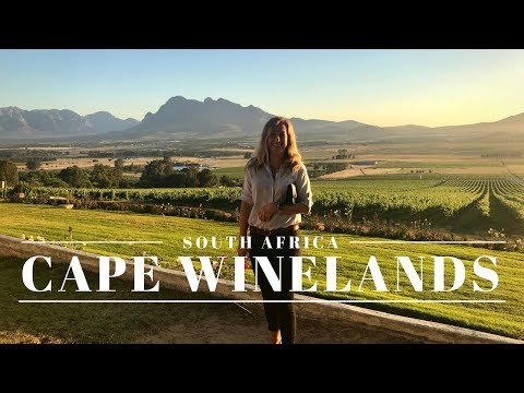South Africa - Exploring beautiful Cape Winelands! (1080p HD) | Magda T