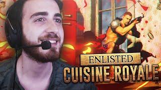Battle Royale Oyun Denemeleri #1 ( Surviv.io - Cuisine Royale )