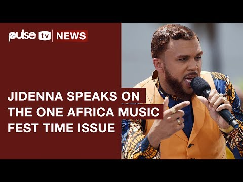 Jidenna Opens Up On One Africa Music Fest Drama | Pulse TV News