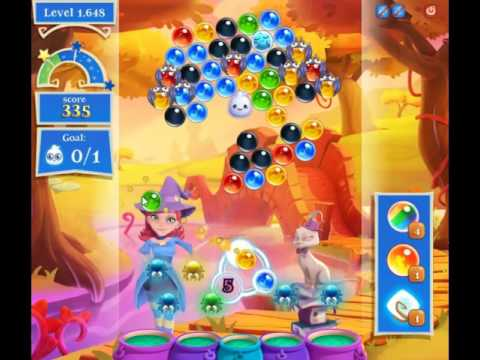 Bubble Witch Saga 2 Level 1648 - NO BOOSTERS (FREE2PLAY-VERSION)