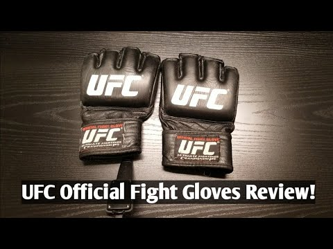 UFC Official Fight Gloves REVIEW!