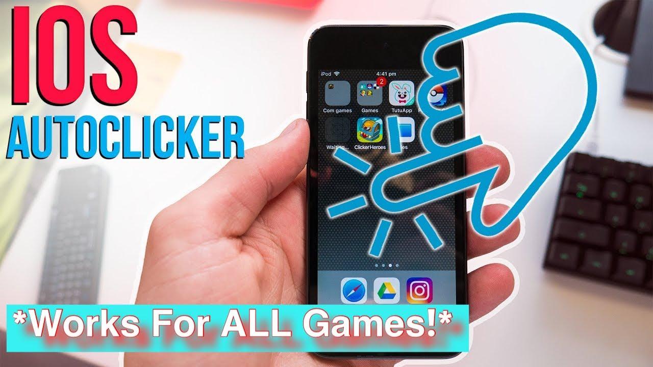 How To Get A Free Auto Clicker Roblox Ios Auto Clicker For All Games Free No Jailbreak No Computer
