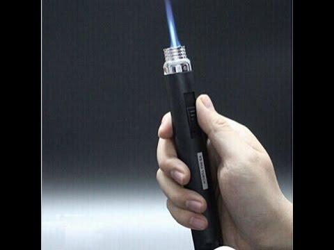 Portable Butane Gas Torch Flamethrower Flame Lighter [Gadgets under 5$]