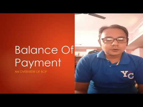 An overview of BOP (Balance of Payment)