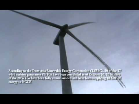 San Lorenzo Windfarm Project in Guimaras