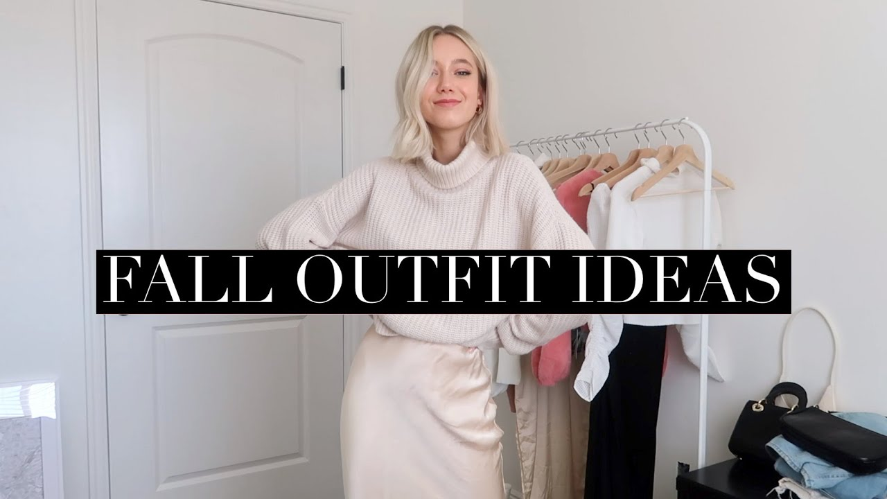 [VIDEO] – 2019 FALL OUTFIT IDEAS 🍂