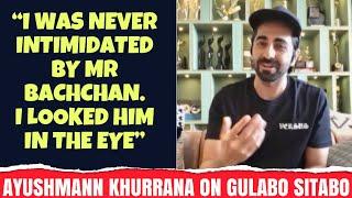 Ayushmann Khurrana on Gulabo Sitabo & Amitabh Bachchan | Rajeev Masand