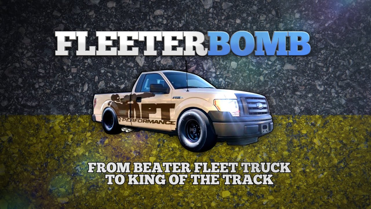 Fleeterbomb from beater fleet truck to king of the track mpt s project f150 5 0l episode 1