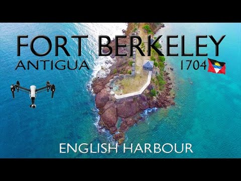 FORT BERKELEY 1704 ~ English Harbor Antigua ~ Best UAV Drone Caribbean Aerials ~ WeBeYachting.com
