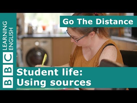 Student Life – Finding and using sources