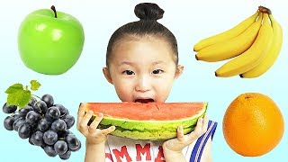 johny johny yes papa | Kids song & Nursery rhymes | Fantastic family eating fruits 과일 먹기와 영어 공부