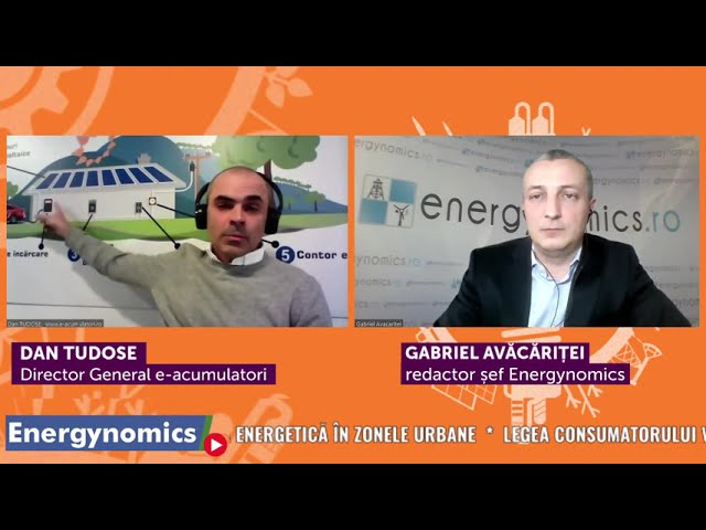 EnergynomicsTalks, Dan Tudose, General Manager e-acumulatori