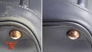 видео Реставрация кожаных сумок