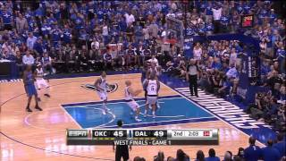 NBA Playoffs: Thunder vs. Mavericks Game 1: Dirk Out Of His Mind