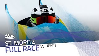 St. Moritz | BMW IBSF World Cup 2019/2020 - Women's Bobsleigh Heat 2 | IBSF Official
