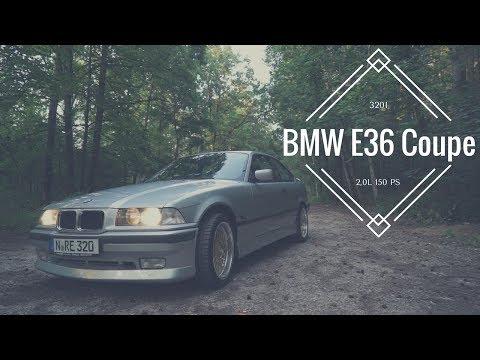 1996 BMW E36 Coupe 320i - 2,0L 150 PS - Car Porn & Sound & Drive
