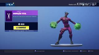 Fortnite dances-electric pass, Infinite Dab, Animadaço, total animation, flow and others