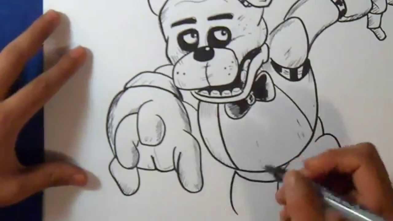 comment dessiner fnaf