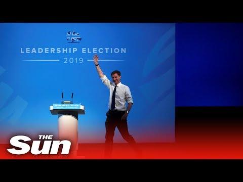 Jeremy Hunt delivers