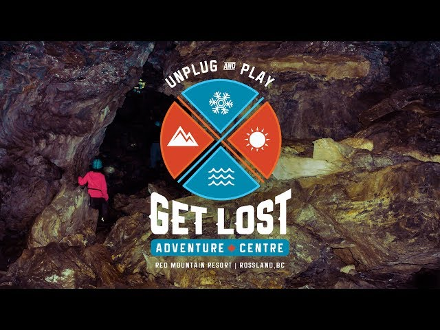 Go underground with GET LOST Adventure Centre