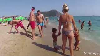 Пляж Клеопатры Алания, Турция(http://allcantrip.ru/plyazh-kleopatry-v-alanii/ Видео пляжа Клеопатры в городе Алания, Турция., 2015-05-29T17:36:18.000Z)