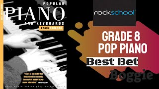 Best Bet Boogie (Trinity Rock School Grade 8 Pop Piano)