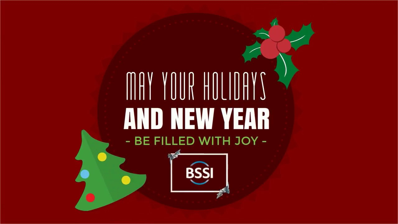 Bssi Holiday Greetings Youtube