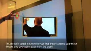 Калибровка сенсорного экрана(Калибровка сенсорного экрана при использовании пленки visualplanet. Заказать пленки можно здесь: http://you-com.ru/?action=sh..., 2013-09-19T10:20:49.000Z)
