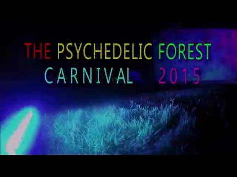 Psychedelic Forest Carnival 2015 @ Kelburn Garden Party - NINJA STAR FILMS