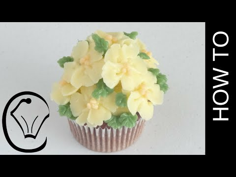 Mother's Day Buttercream Flower Blossom Cupcakes by Cupcake Savvy's Kitchen