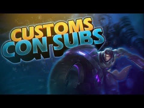 ? Personalizadas Con Subs | Mobile Legends Bang Bang | Señor L | 25/03/2019 thumbnail