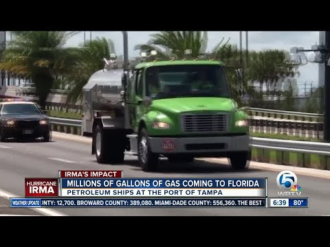 Much-needed fuel headed to Florida ports after Hurricane Irma