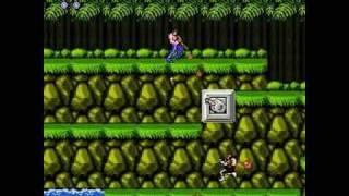 Скачать 8 Bit Nostalgia NES Contra Stage 1 Jungle