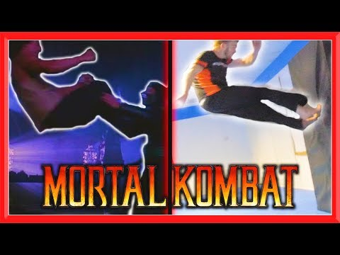 Mortal Kombat Movie Stunts In Real Life (Part 2) | Flips & Kicks thumbnail