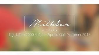 Event | Tiệc buffet bánh Apollo Gala Summer 24.08.2017