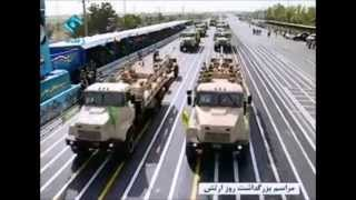Iran national Army day  parade on 18 April 2015  رژه 29 فروردین 1394  روز ارتش
