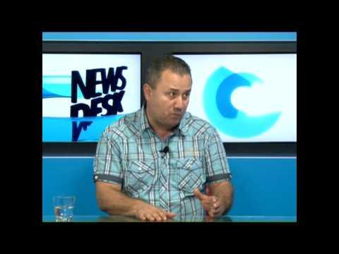 News Desk 29 07 2014 - Mircea Burlacu, președintele Federației Naționale a Sindicatelor Portuare