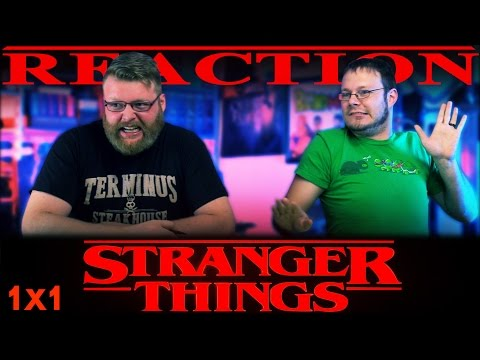 """Stranger Things """"Chapter One: The Vanishing of Will Byers"""" REACTION!!"""