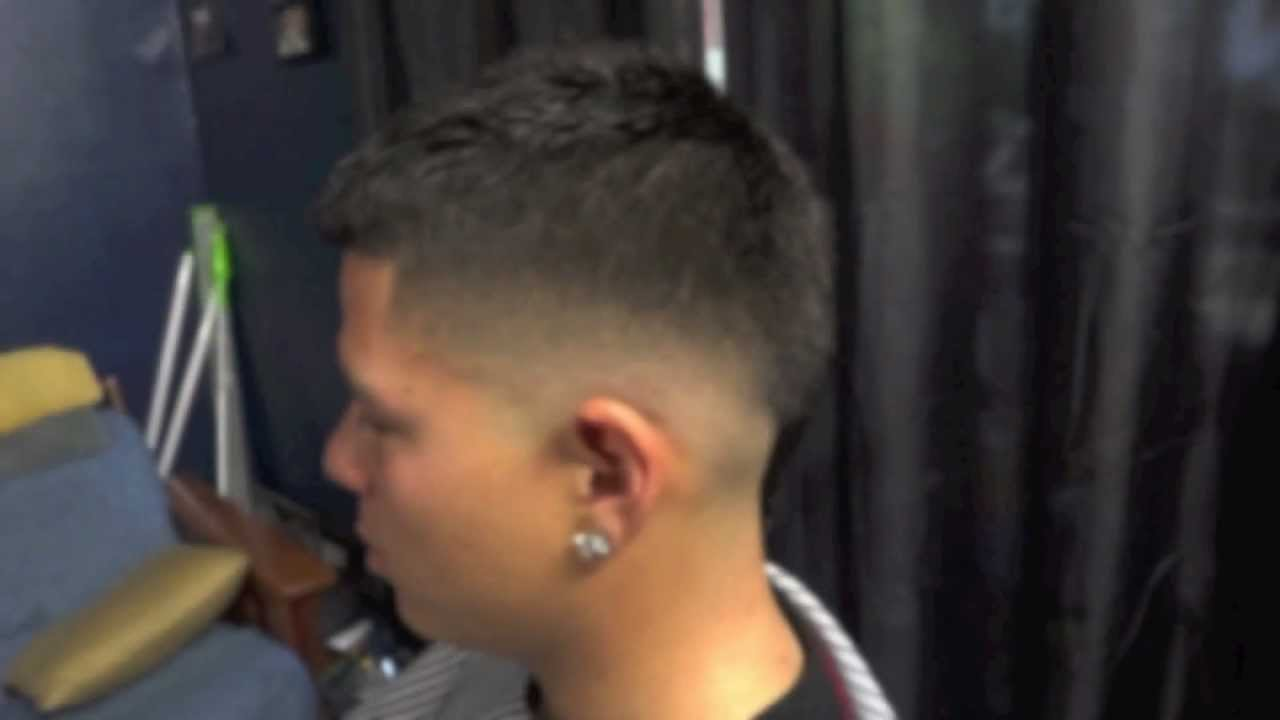 Mohawk Fade Haircut Instagram @kike_cutz   YouTube