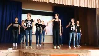 Флешмоб 9-а,б классов школы Веселовского района