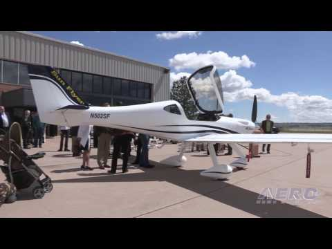 "Aero-TV: The Future is Near - Aero Electric Aircraft Rolls Out The ""Sun Flyer"""