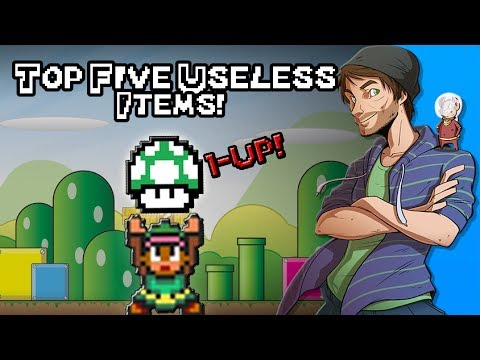 Top 5 Useless Items in Video Games! - SpaceHamster