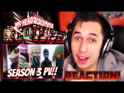 {BREAKING HYPE!!} NEW MHA TRAILER!!| Boku No Hero Academia *SEASON 3* PV Trailer REACTION!!