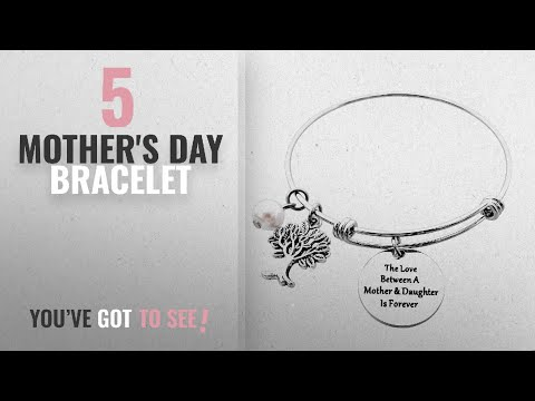Top 5 Mother's Day Bracelet [2018]: ALoveSoul Mothers Day Bracelet - The Love Between A Mother and