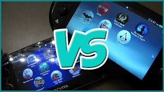PS Vita SLIM VS PS Vita FAT - Comparison