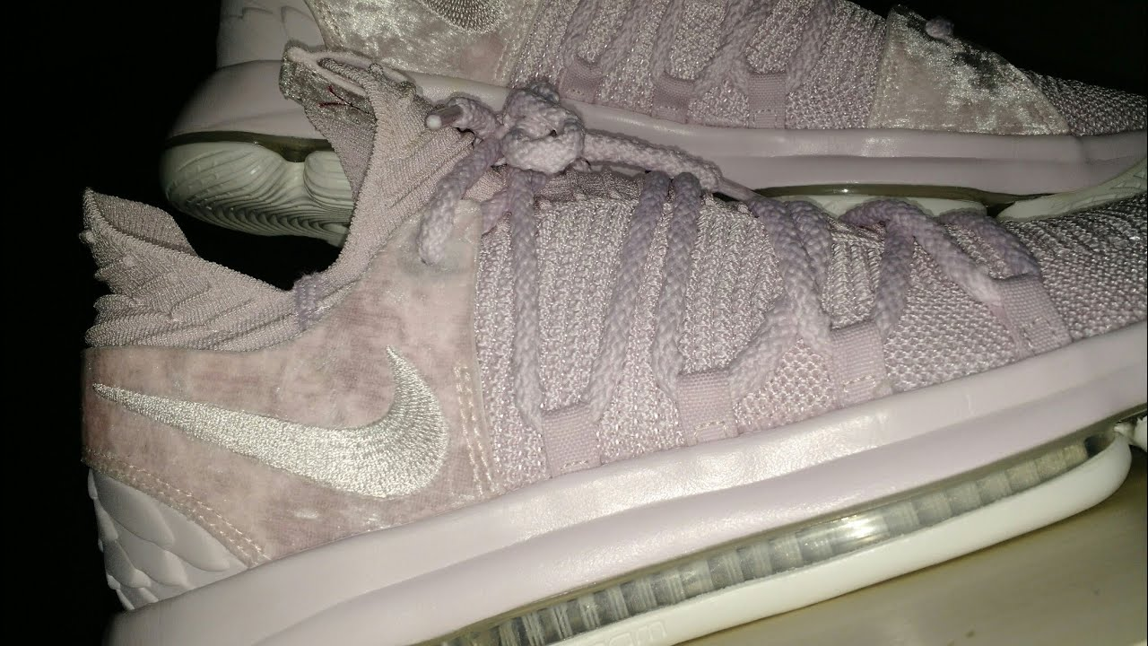 cf34138efaa KD 10 Aunt Pearl Unboxing and on feet! - YouTube