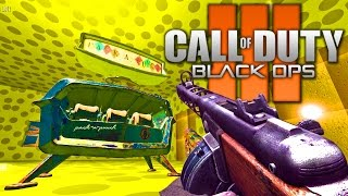 CHEESE CUBE BLACK OPS 3 ZOMBIES REMAKE! Call of Duty BO3 Mods Gameplay